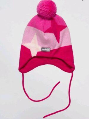 Шапка для дівчинки блідо-рожева Susan