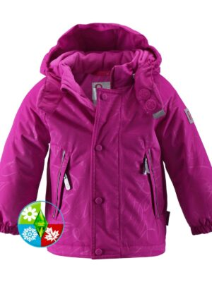 Куртка зимняя R-Tec для девочки малиновая 511108 Reima