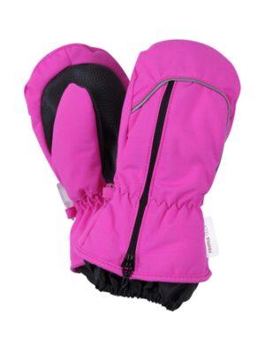 Рукавиці Tepas minitec R-tec для дівчинки рожеві