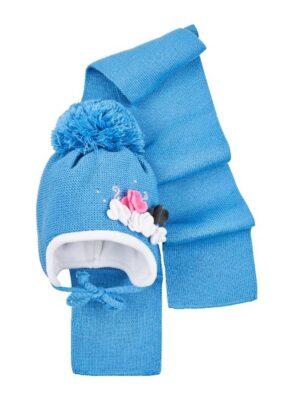 Комплект зимний для девочки ярко голубой 812 Magrof