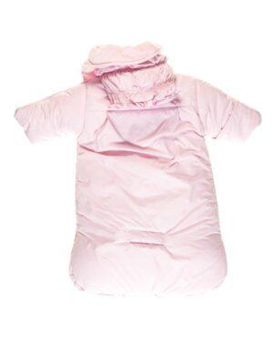 конверт розового цвета со съемной овчиной Rozyczki
