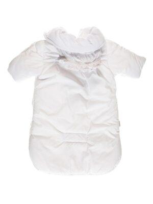Конверт білого кольору зі знімною овчиною для новонароджених Rozyczki