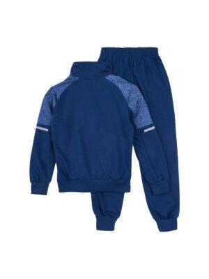 Спортивний костюм для хлопчика темно синій трикотажний 2028-1 F& D