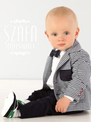 Комплект для хлопчика з смугастим піджаком
