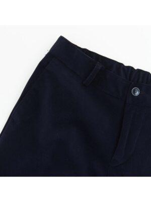 Штани для хлопчика класичні синього кольору