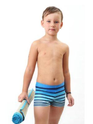Плавки-шорты для мальчика в горизонтальную полоску Beach Keyzi