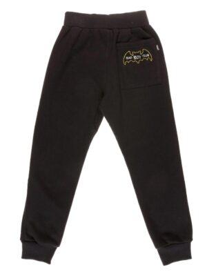 Брюки для мальчика спортивные черного цвета на утеплении Арт. 1181