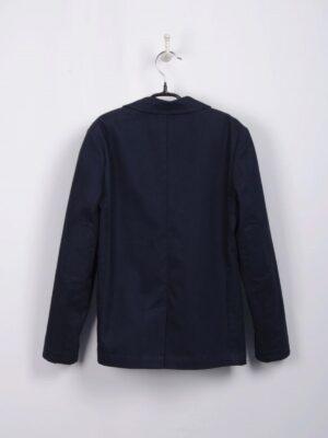 Піджак для хлопчика чорний з нашивками на ліктях