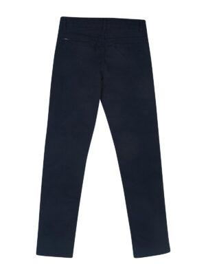 Штани для хлопчика підліткові сині бавовна