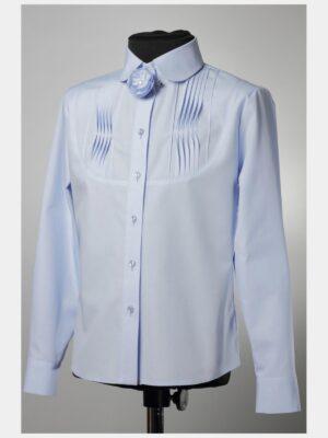 Блуза для дівчинки Бузкова довгий рукав