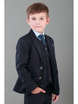 Шкільний піджак для хлопчика синього кольору
