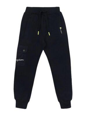 Штани спортивні для хлопчика темно сині теплі