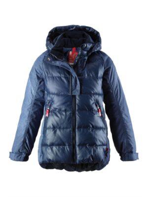 Куртка menkib синя під стиль джинси для дівчинки