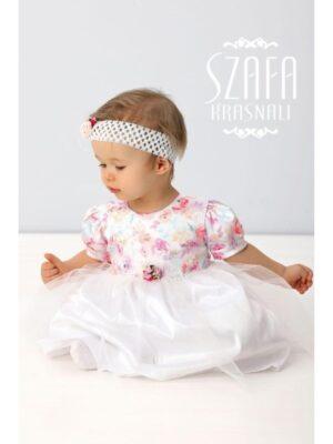 Ошатне плаття з пов'язкою для дівчинки