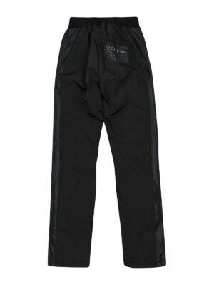 Штани плащівка для дівчинки на синтепоні чорні