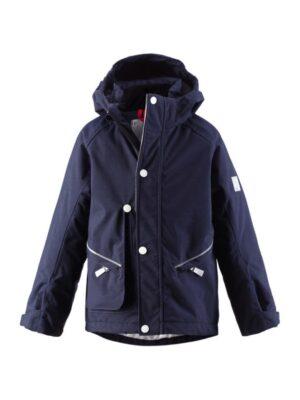 Куртка парку для хлопчика синя