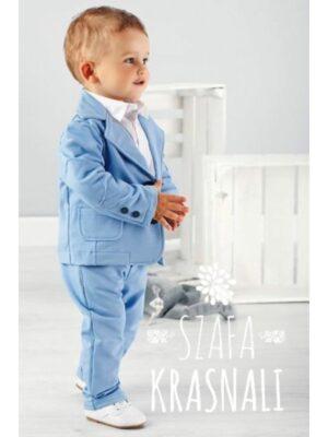 Комплект з трьох предметів для хлопчика Блакитний