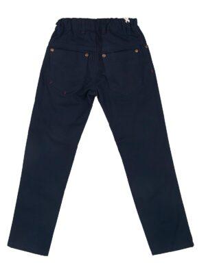 Штани для хлопчика підліткові сині бавовняні