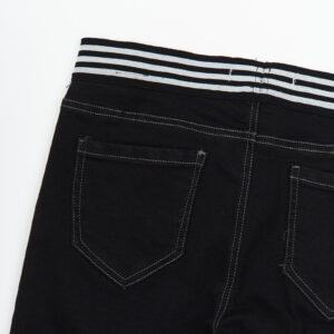Штани для дівчинки ускачі чорний катон