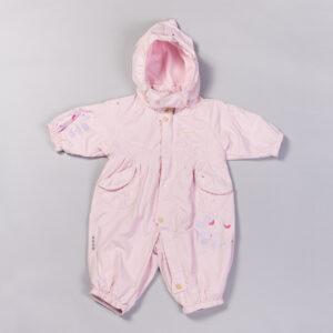 Комбінезон для новонародженого світло рожевий Демі