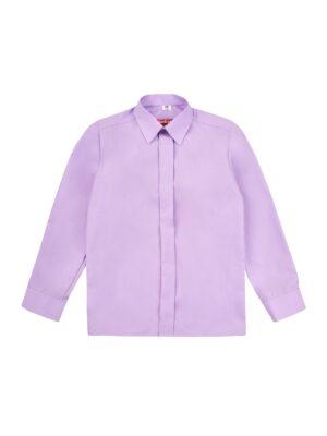 Сорочка для хлопчика класика в бузковому кольорі Арт. 01-15-1 Jankes