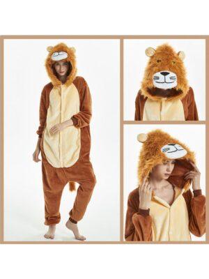 Кигурими пижама для мальчика теплая флиссовая яркая