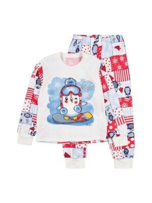 Пижама для девочки теплая малиновая
