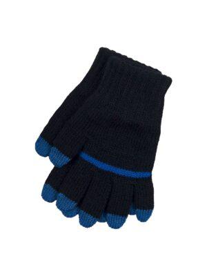 Перчатки Margot Bis для девочки Черные