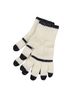 Перчатки Margot Bis для девочки Белые