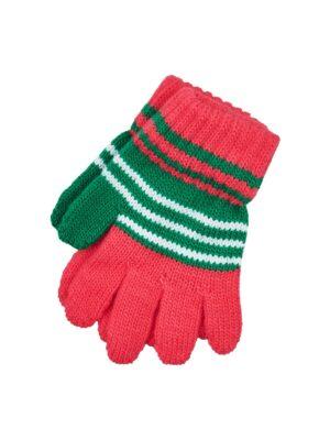 Перчатки Margot Bis Красные, зеленые