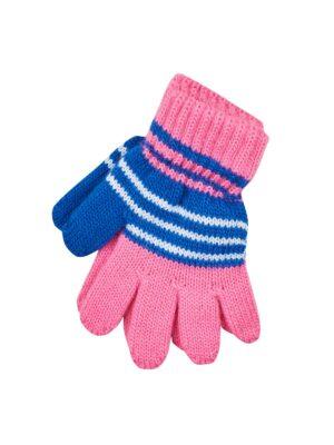 Пальчатки Margot Bis для дівчинки Сині, Рожеві