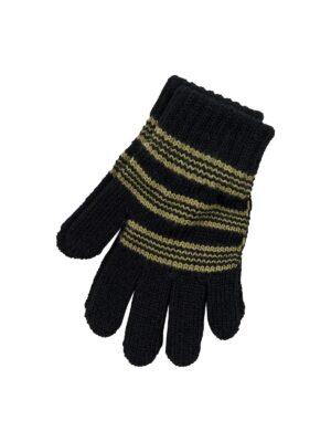 Перчатки Margot Bis для мальчика Черный, Зеленый