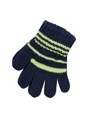 Пальчатки Margot Bis для хлопчика Сині