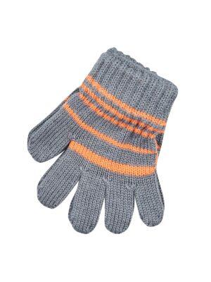 Перчатки Margot Bis для мальчика Серые