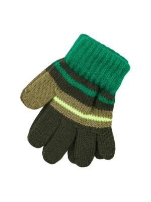 Пальчатки Margot Bis для хлопчика Зелені