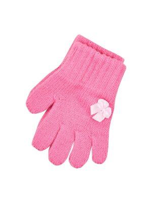 Пальчатки Margot Bis для дівчинки Рожеві