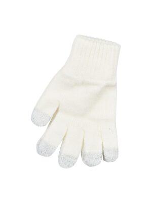 Пальчатки Margot Bis для дівчинки Молочні