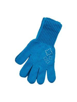 Пальчатки Margot Bis для дівчинки Сині