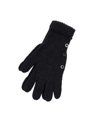 Пальчатки Margot Bis для дівчинки Чорні