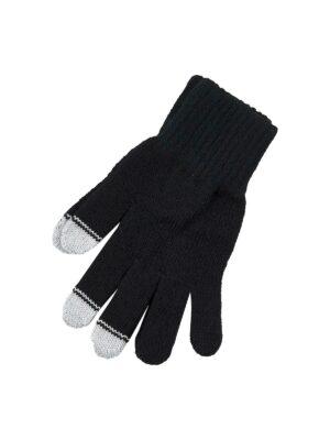Перчатки Margot Bis для мальчика Черные