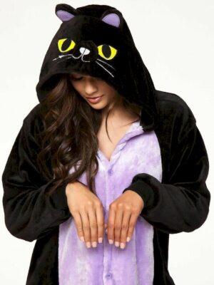 Кігурімі піжама для дівчинки тепла велсофт