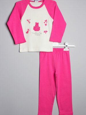 Пізама дитяча яскраво рожева для дівчинки
