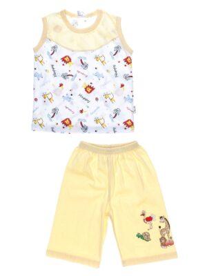 Піжама дитяча з маєчкою і шортиками жовта