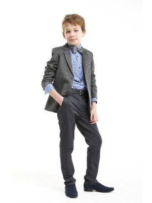 Штани для хлопчика завужені темно-синього кольору Slim Jankes