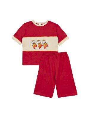 Піжама для хлопчика з коротким рукавом і бриджами