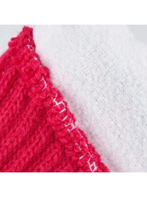 Пальчатки Margot Bis для дівчинки Червоні