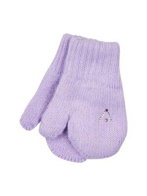 Перчатки Margot Bis для девочки Сиреневые