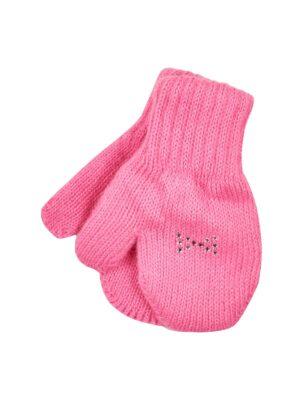 Перчатки Margot Bis для девочки розовые