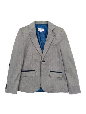 Пиджак для мальчика серый Koszulland Демисезон