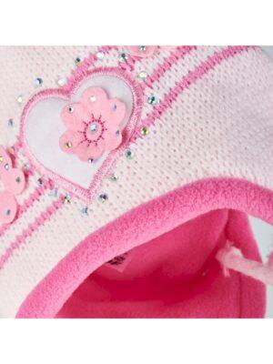 Шапка Шарф Magrof для девочки Розовая